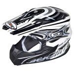 SUOMY CROSS RUMBLE VISION SILVER